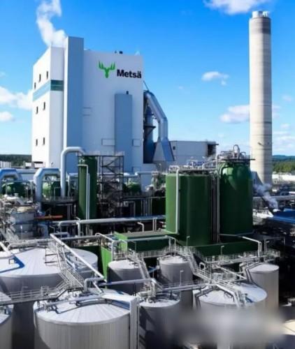 全球新一代生物质浆厂正式投产