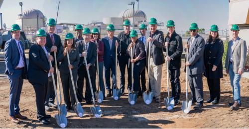 北美最大的有机废物回收中心开工建设