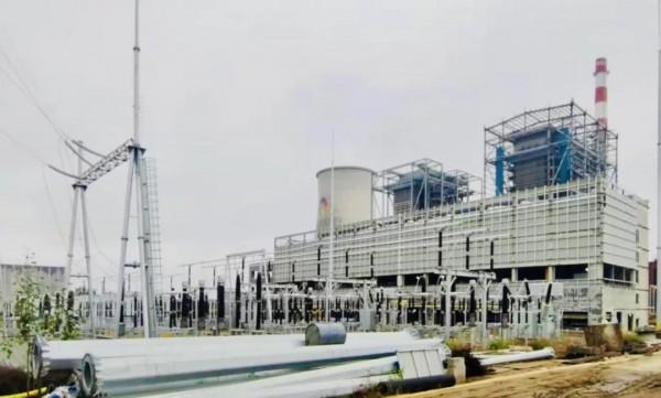 泰来九洲2×40MW农林生物质热电联产项目倒送电一次成功